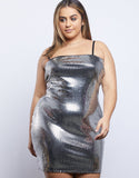 Plus Size Disco Ball Dress