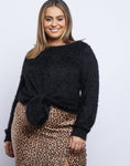 Plus Size Kristin Tie Sweater
