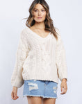 Zoe Cable Knit Sweater