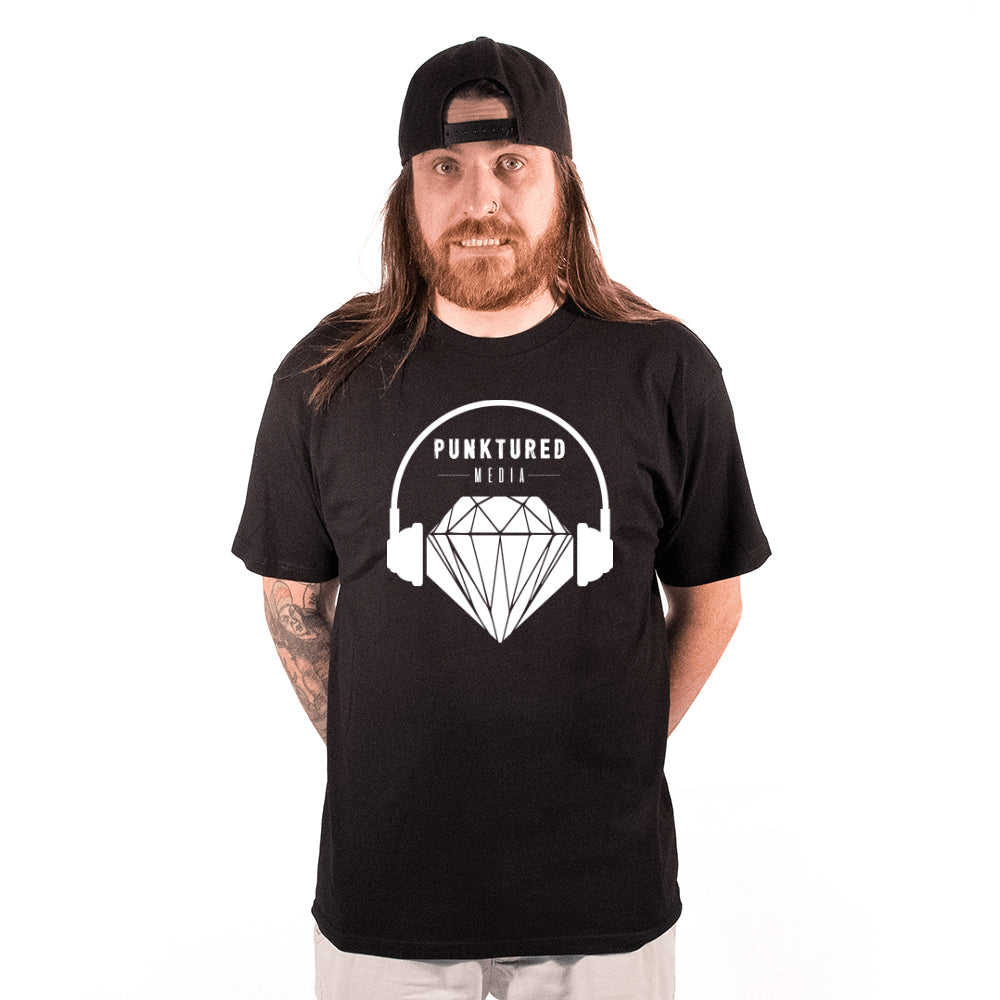 PUNKTURED MEDIA | LOGO TEE MENS