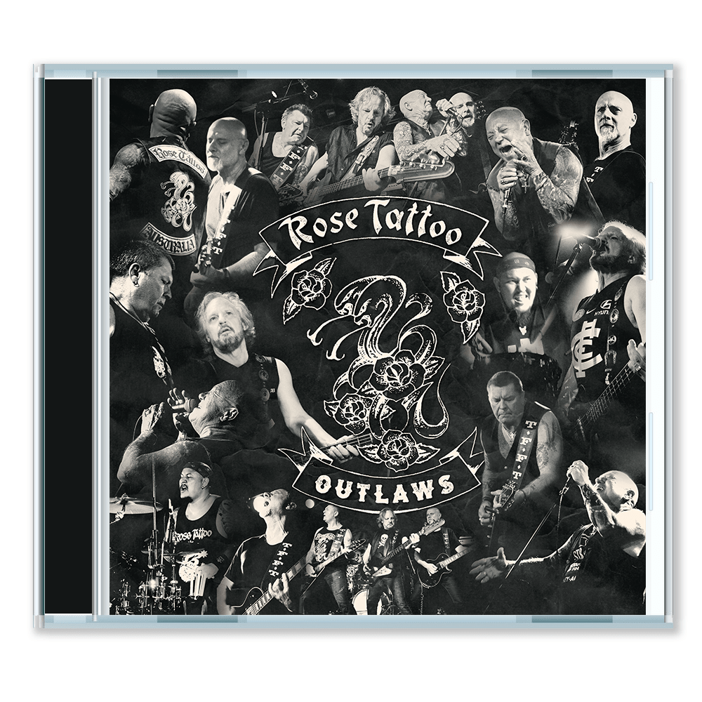 ROSE TATTOO - OUTLAWS CD