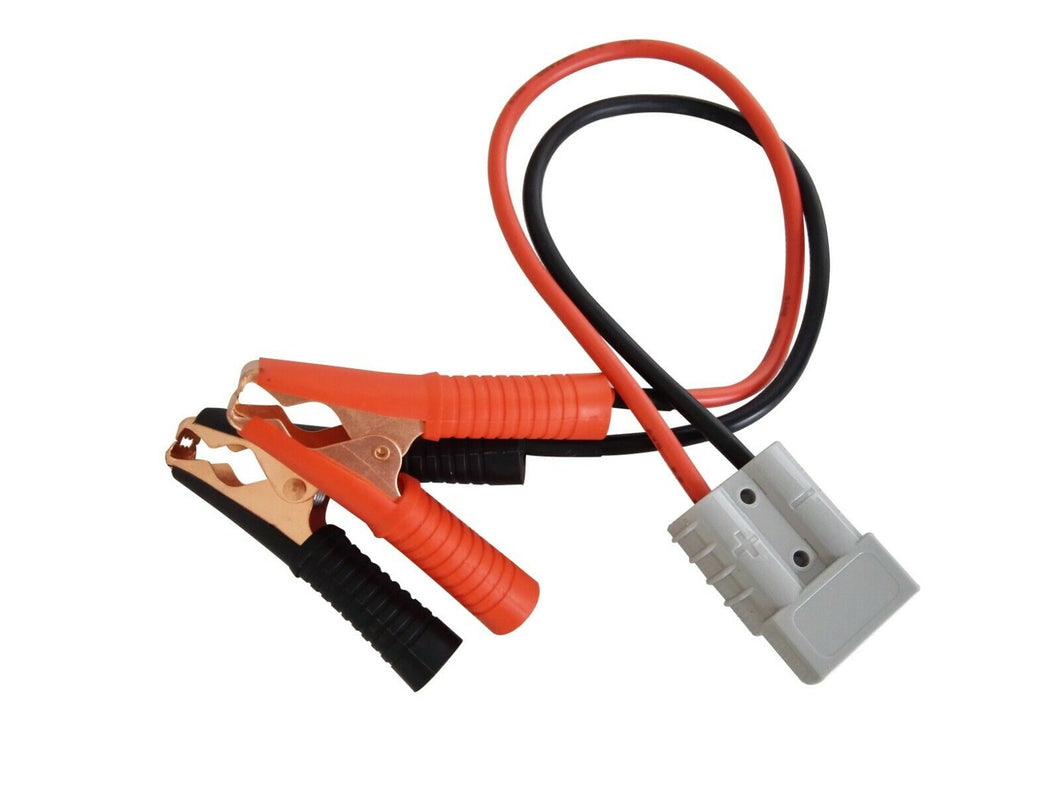 Anderson Power Pole 50A Connector 8AWG 30CM to BIG Alligator Battery Clamps