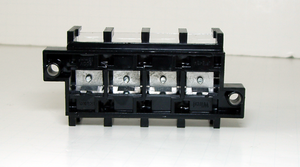 4-Position Terminal Block 660V 76A 1-5AWG Connectors 121*60*41mm HUGE SIZE!