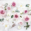 Ten to fifteen stems of cream and blush toned blooms to adorn your wedding cake or to add some prettiness to your wedding details shots!