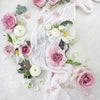 Flowers to dress up your wedding cake or to add some prettiness to your wedding details shots!