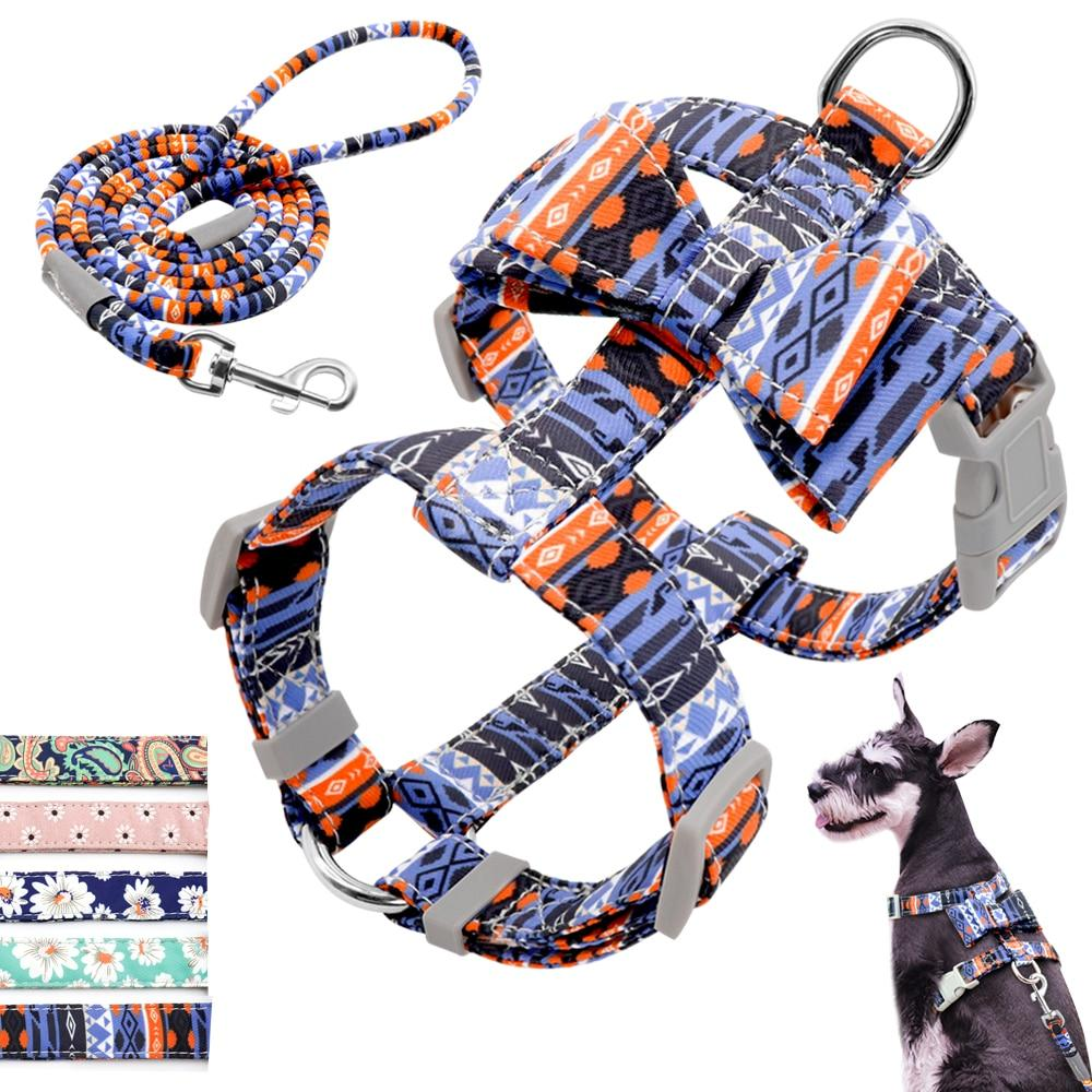 Adjustable  Leash Set Dog Harness - Paw Pawchi