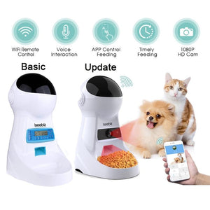 Automatic Pet Feeder With Voice Record - Paw Pawchi