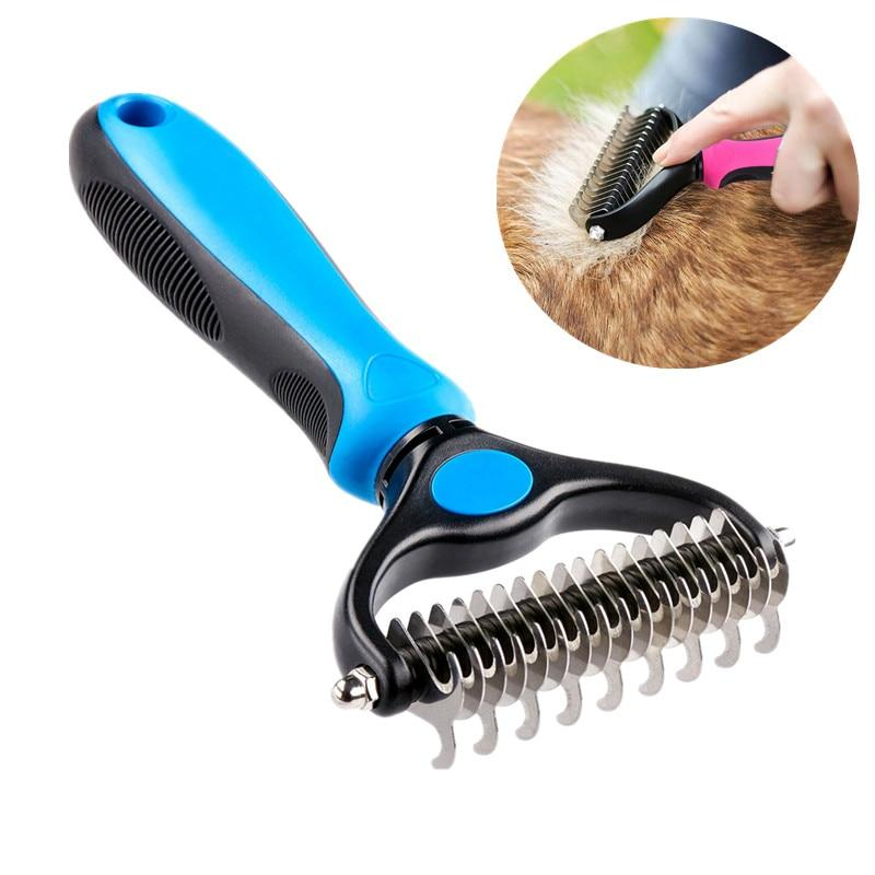 New Stainless Double-sided dog Comb - Paw Pawchi