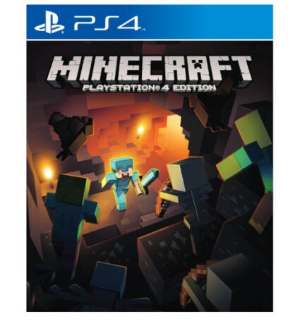 Minecraft Playstation 4 Edition - Sony Playstation 4 - PS4 - UK Release Version
