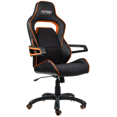 Nitro Concepts E220 Evo Series Gaming Chair - Black/Orange