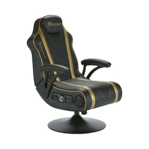 Gaming Chair Typhoon 4.1 Speakers PS4, Xbox One Switch Subwoofer Rumble Motors