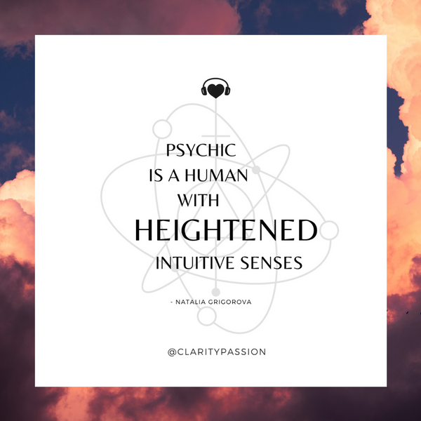 Psychic Is A Human With Heightened Intuitive Senses