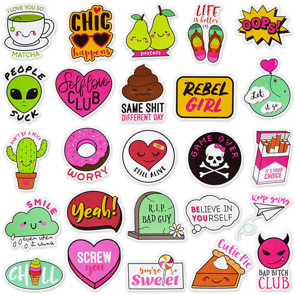 Cute Cartoon B ( 50 Pcs )