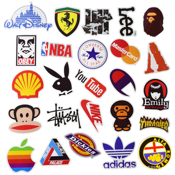 Logo Cartoon ( 100 Pcs )