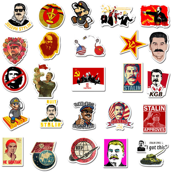 Stalin Cartoon ( 50 Pcs )