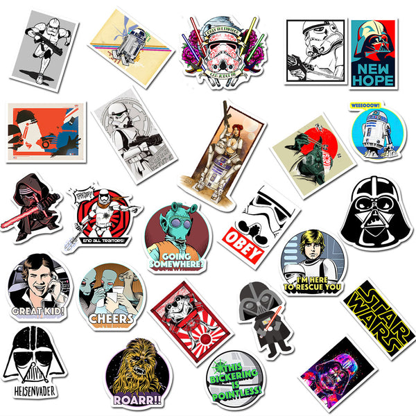 Star Wars2 ( 50 Pcs )
