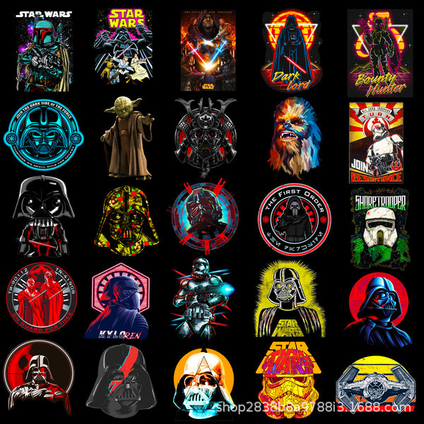 Star wars Graffiti ( 50 Pcs )