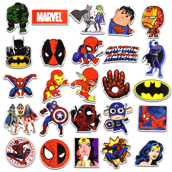 Super Hero A ( 50 Pcs )