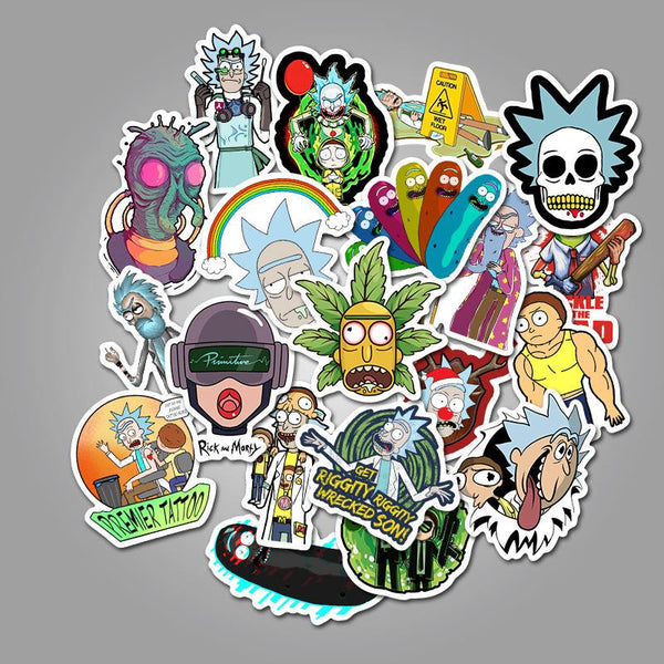 Cartoon Character ( 50 Pcs )-Vinyl Waterproof Stickers - StickerDoll