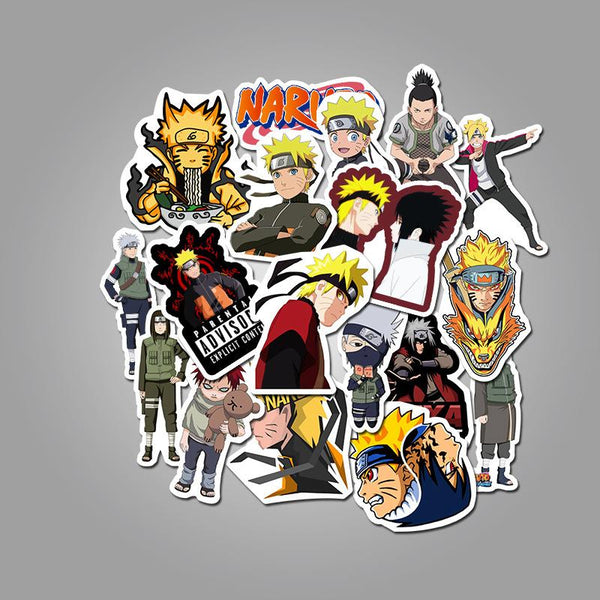 Cartoon Character fire ( 50 Pcs )-Vinyl Waterproof Stickers - StickerDoll