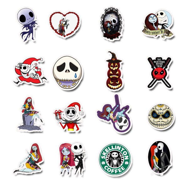 Halloween Cartoon ( 50 Pcs )-Vinyl Waterproof Stickers - StickerDoll