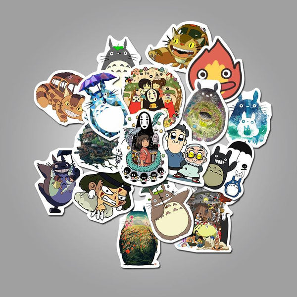Japan Cartoon ( 50 Pcs )-Vinyl Waterproof Stickers - StickerDoll