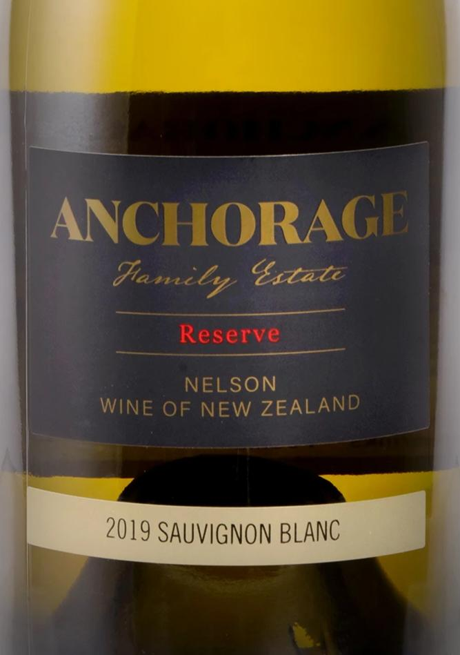 Anchorage Reserve Sauvignon Blanc 2019 (6 Bottle Pack)