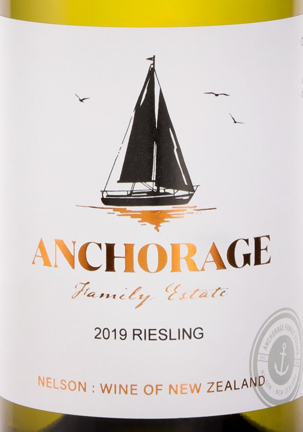 Anchorage Riesling 2019 (6 Bottle Pack)