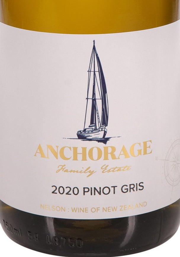 Anchorage Pinot Gris 2020 (6 Bottle Pack)