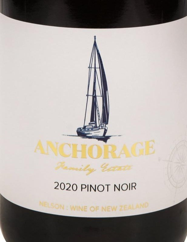 Anchorage Pinot Noir 2020 (6 Bottle Pack)