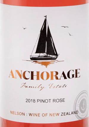 Anchorage Pinot Rose 2018 (6 Bottle Pack)