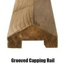 Grooved capping