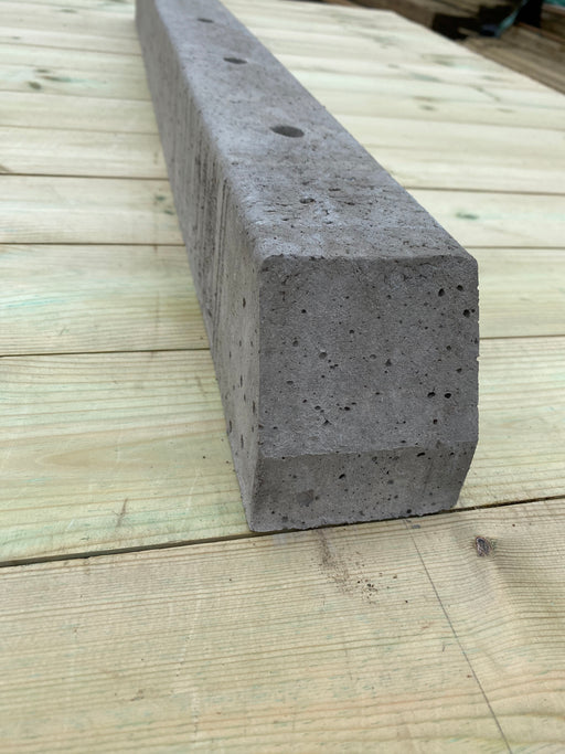 Concrete post spur