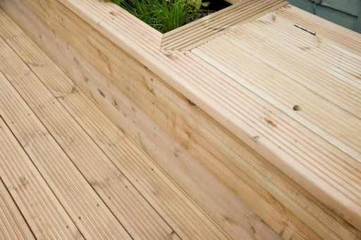 Waxed Decking Boards (120x32)
