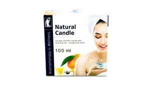 soy wax cosmetic candle with essential oils studio figura