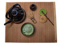 Load image into Gallery viewer, Matcha Bamboo tea Mat | Qatar