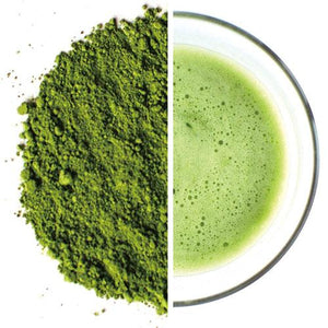 Matcha tea green powder