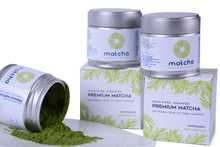 Load image into Gallery viewer, Matcha tea powder sold in Qatar - natural antioxidant and fat burner