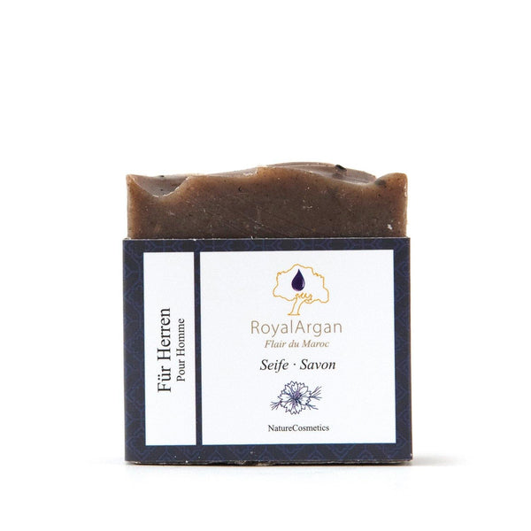 Black Seed Seife -For Men- - Royal Argan - Naturkosmetik-Produkte mit Arganöl