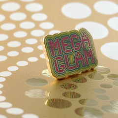 MegaGlam Mini Enamel Pin