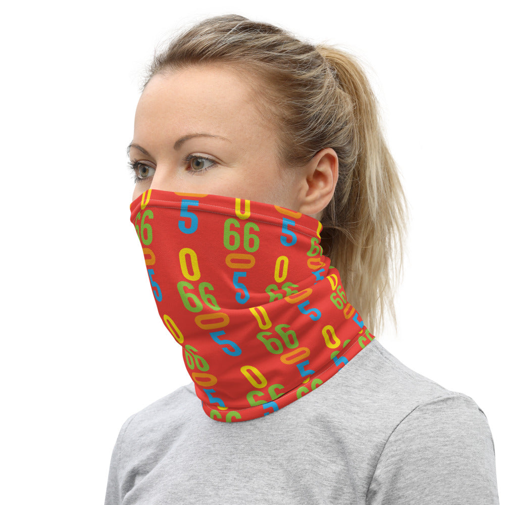 06605 Orange Neck Gaiter