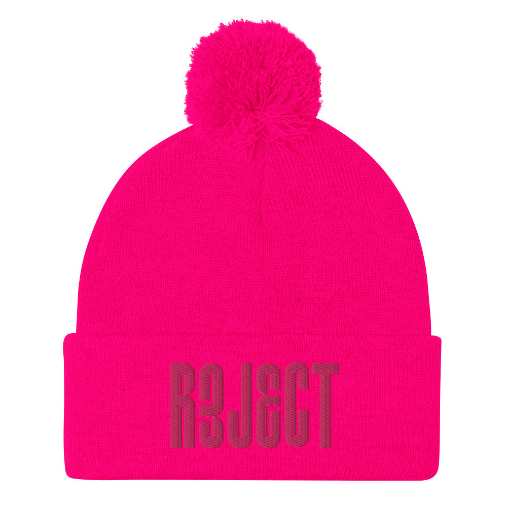 REJECT Pink Beanie
