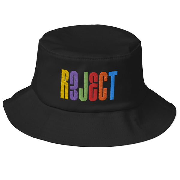 Rainbow REJECT Bucket Hat