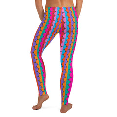 Color Wave Leggings