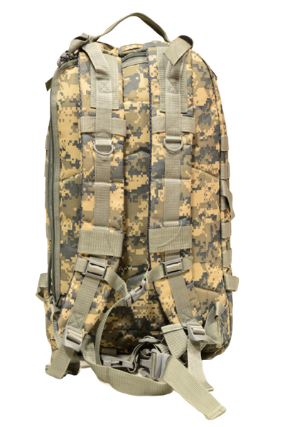 ACU large day backpack, back