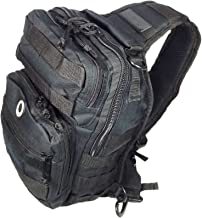 black sling backpack 12 inches