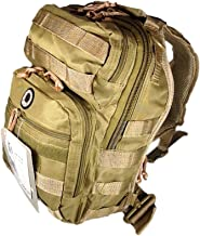 tan sling backpack 12 inches