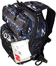 navy camo sling backpack 12 inches