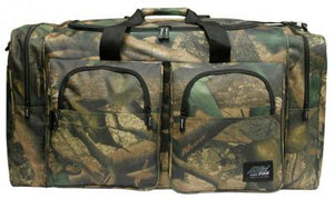 woodland camo gear bag, 30 inches