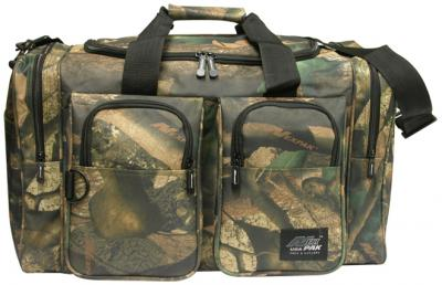 woodland camo gear bag, 22 inches